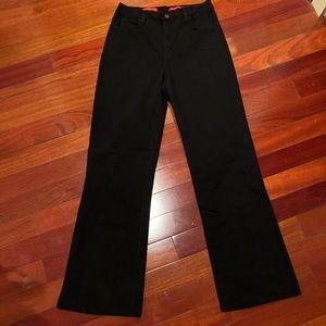NYDJ Wide Leg Black Jeans